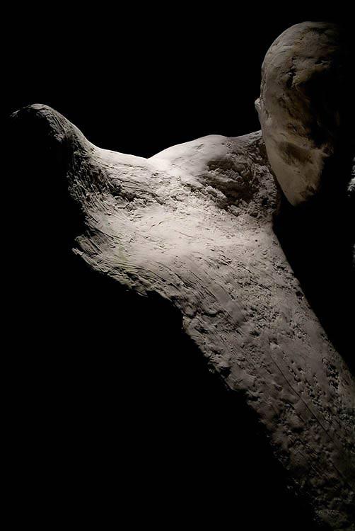 altrospazio fotografia, le statue di Cristiano Alviti, i suoi