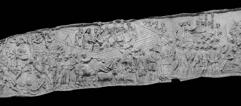 altrospazio fotografia, Hyper Columna è un progetto multimediale che permette di fruire la colonna Traiana in modo lineare
