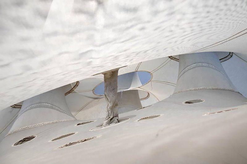 altrospazio fotografia, l'installazione di Ernesto Neto al MACRO di Roma