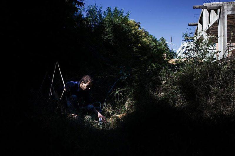 altrospazio fotografia, making of del collettivo There is No Place Like Home a via Aurelia Antica 425