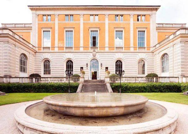 altrospazio fotografia, la sede principale dell'Accademia Americana a Roma sul Gianicolo