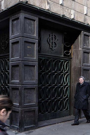 altrospazio fotografia, le architetture di Giovanni Muzio a Milano, via Giardini