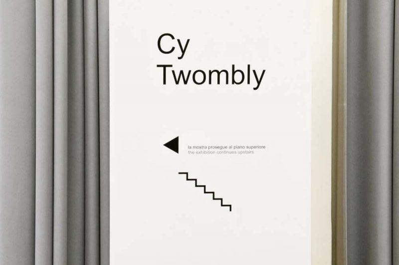 altrospazio fotografia, Cy Twombly