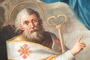 altrospazio, riproduzione in alta definizione della pala d'altare della chiesa di San Nicola. Corcumello, frazione di Capistrello (AQ)