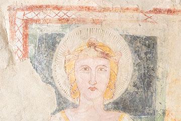 PIC, Patrimonio in Comune - Affresco presso il Santuario di Santa Maria della Sperlonga a Palomonte
