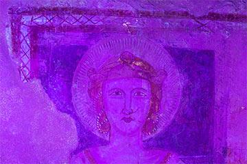 PIC, Patrimonio in Comune - Fluoresenza UV su un affresco presso il Santuario di Santa Maria della Sperlonga a Palomonte