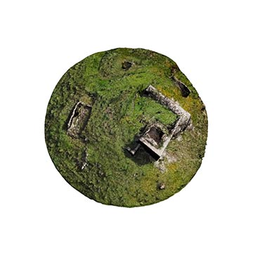 PIC - Patrimonio in Comune. Modello tridimensionale del castello in cima a Palomonte