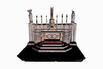 PIC - Patrimonio in Comune. Modello tridimensionale dell'altare della Chiesa Madre a Palomonte