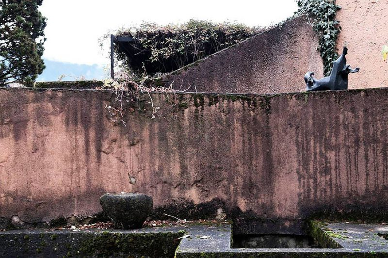 altrospazio fotografia, Casa Tabarelli progettata da Scarpa e Los