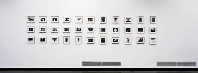 altrospazio fotografia, Antony Gormley durante l'installazione di
