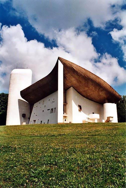 altrospazio fotografia, la Cattedrale di Ronchamp di Le Corbuisier