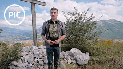 PIC - Patrimonio in Comune, contributo di Simone Valitutto alla consegna della Capsula del Tempo sul Monte Tre Croci a Palomonte